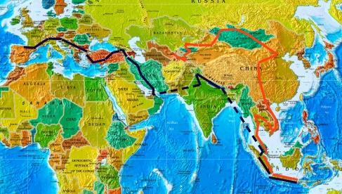 mapa de la ruta del viaje