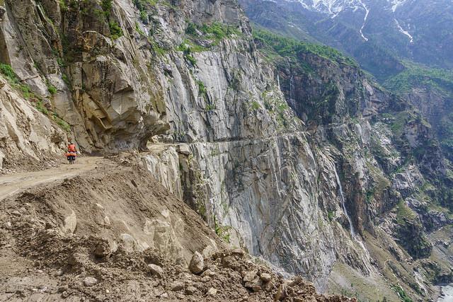 Valle de Pangi en Bici