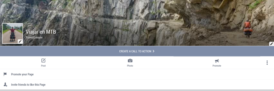 Viajar en MTB Facebook