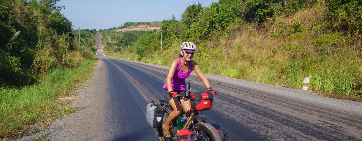 Camboya en bici