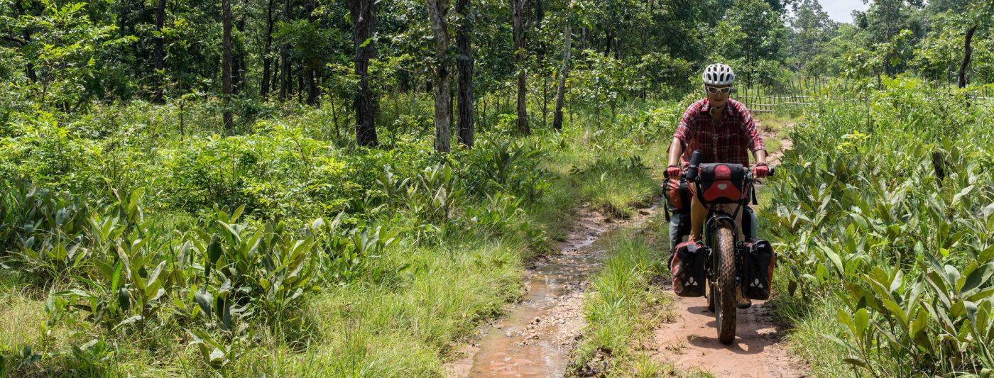 Cambodia en bicicleta