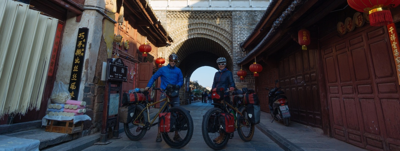 Viajar por China en MTB